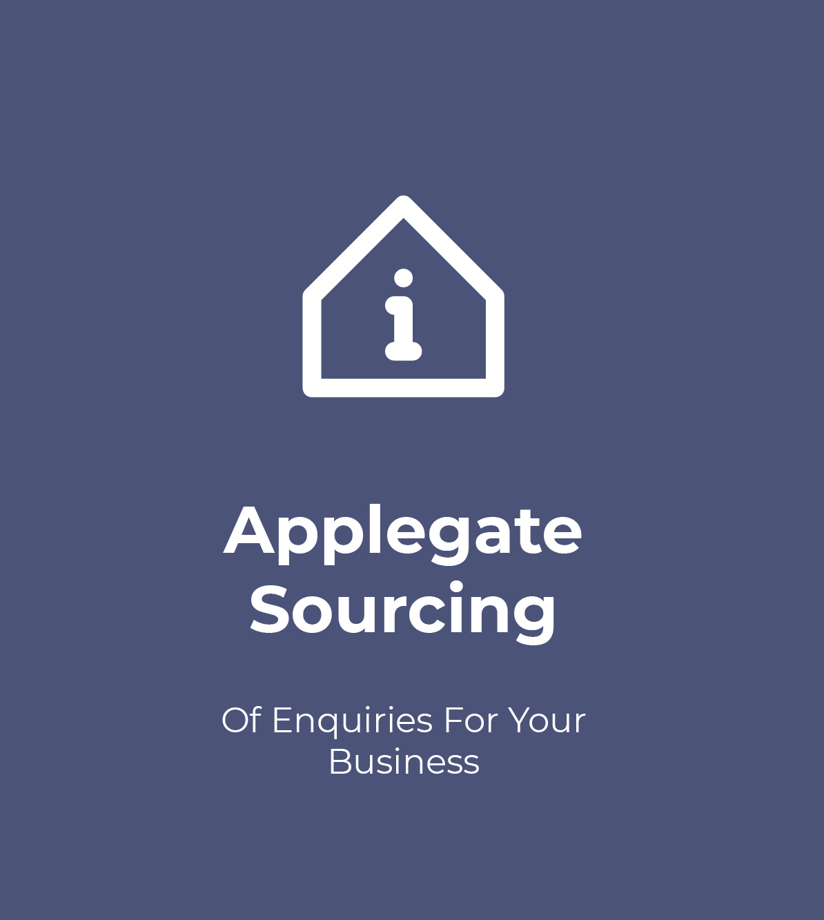 Applegate Enquiry Sourcing