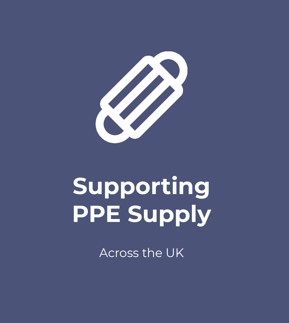 Supporting PPE Supply